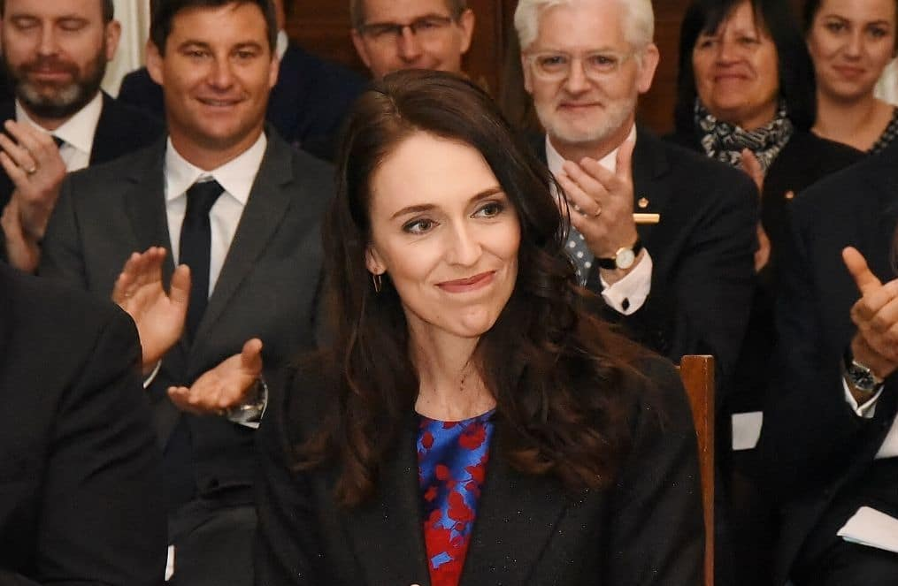 Female leadership advantage Jacinda Ardern